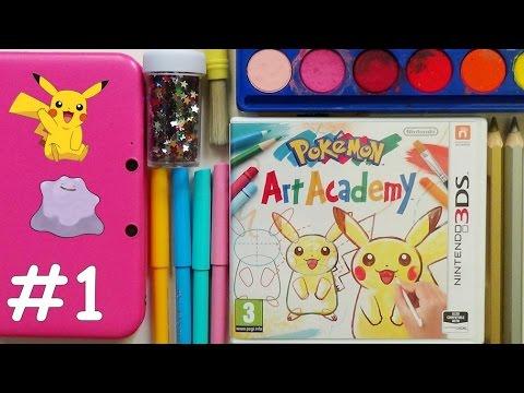 Pokemon Art Academy #1- Pikachu i Ditto ٩(。◕‿◕。)۶