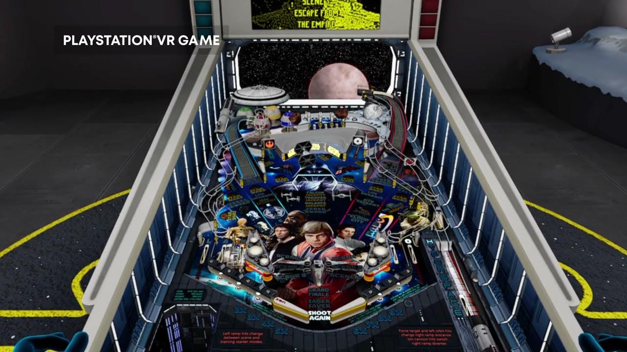 Star Wars Pinball VR - Launch Trailer | PS VR