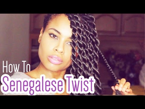 How To Senegalese Twists Like A Pro Youtube