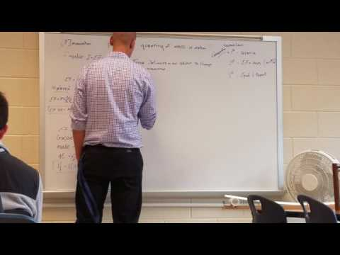 Johns Creek AP Physics 1 - Momentum and Impulse