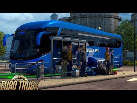 😱⚠️ETS2 1 31 BUS STATION - Euro Truck Simulator 2 Mod⚠️😱