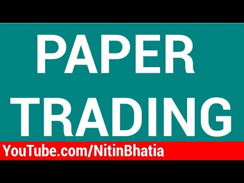 Paper Trading for Stock Market Beginners (Hindi)