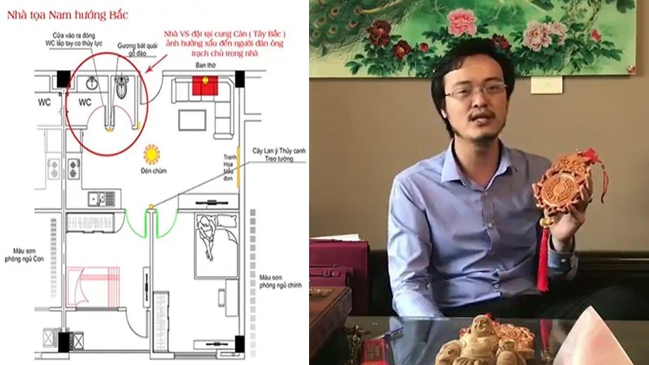 Quá Bất Ngờ 97,3% Nhà ở Việt Nam Thiết kế Nhà vệ sinh sai Phong Thủy mà bạn không biết Hậu Quả