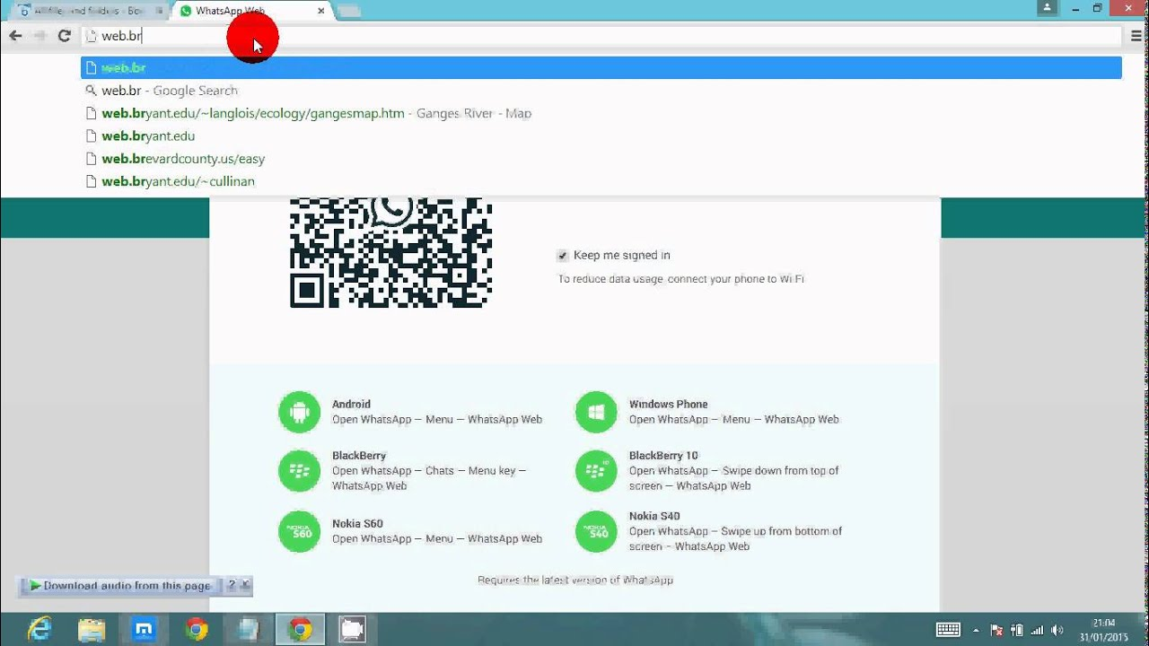 Whatsapp Free Download for Laptop (Windows 10/8/7/XP)