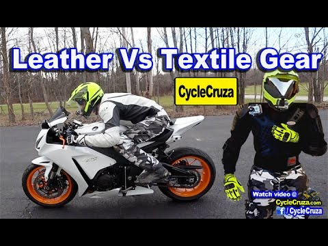 Textile Vs Leather Motorcycle Gear: Leather Gear Necessary?