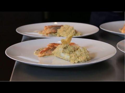 Escalope De Truite Au Beurre Et Aux Algues