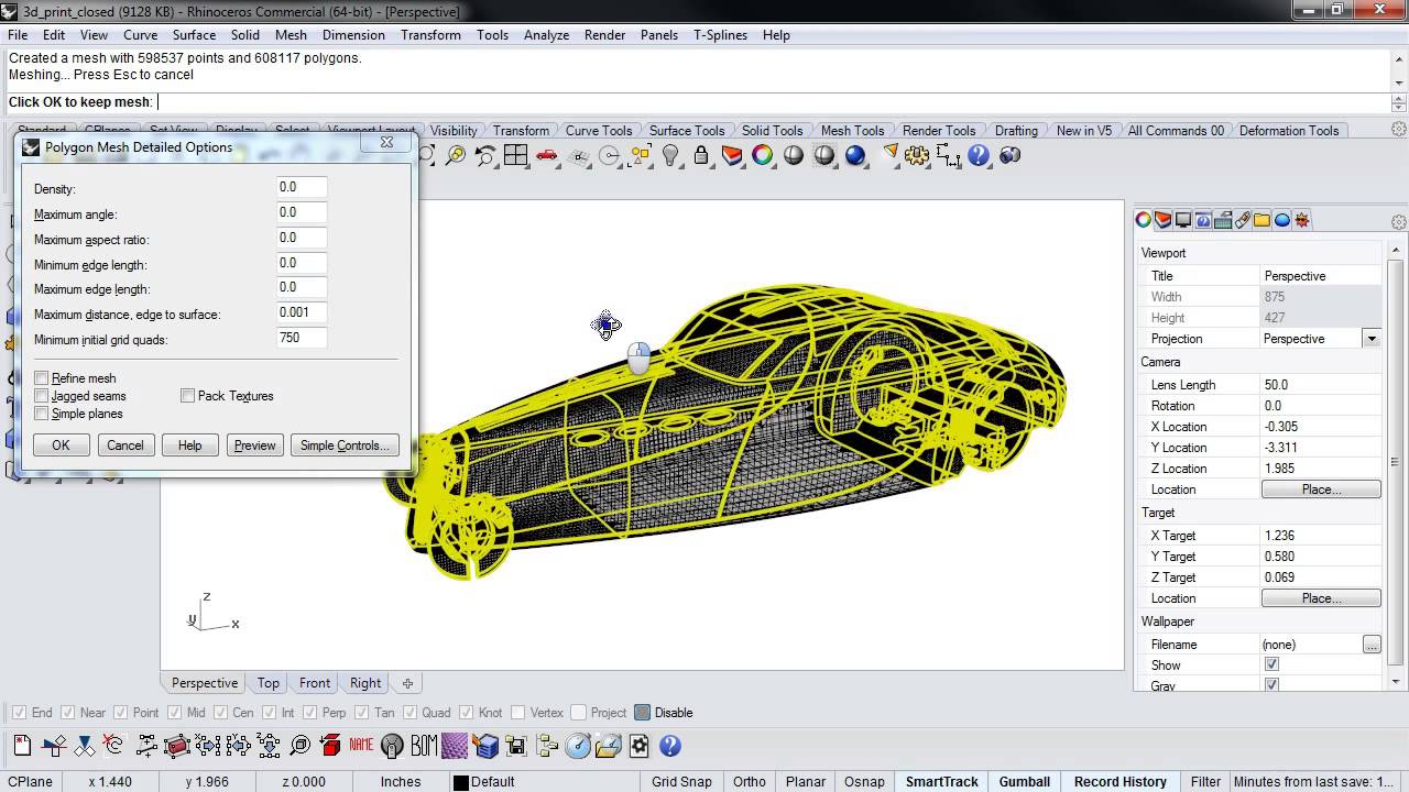 Tutorial: 3D Printing with Rhino   3D Printing Blog   i materialise