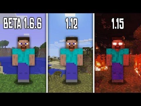 Как выглядит Сид 666 на разных версиях? | Майнкрафт Факты