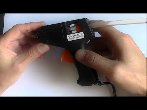 Как сделать термопистолет с 220 на 5 - 12 вольт, доработка и тест.