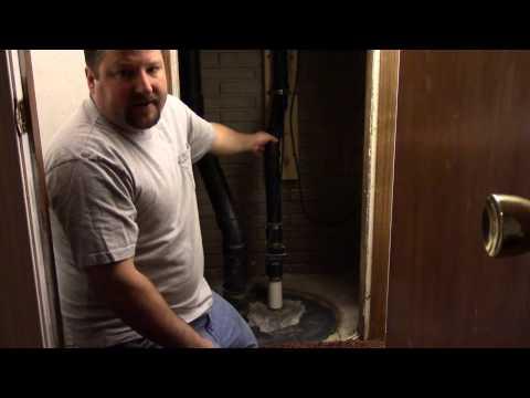 hook up sewage
