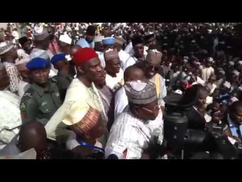 PDP National Chairman Sen. Ali Modu Visit Jigawa