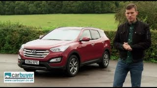 Hyundai Santa Fe SUV review CarBuyer