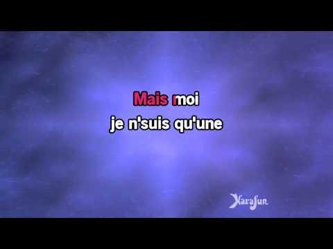 Karaoké Je Ne Suis Qu'une Chanson - Ginette Reno *