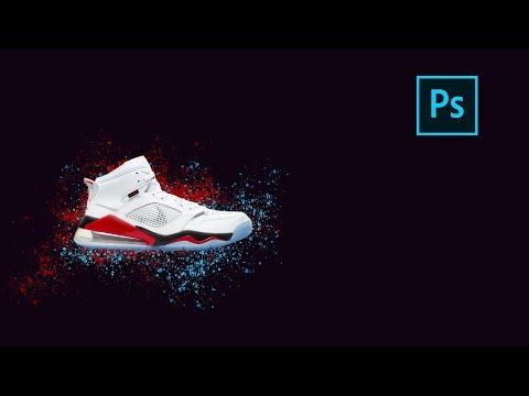 Простой дизайн постера Nike | Photoshop Tutorial thumbnail
