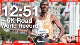 Joshua Cheptegei 12:51 Road 5K WR Further Marks the Transition of New Faces in Distance
