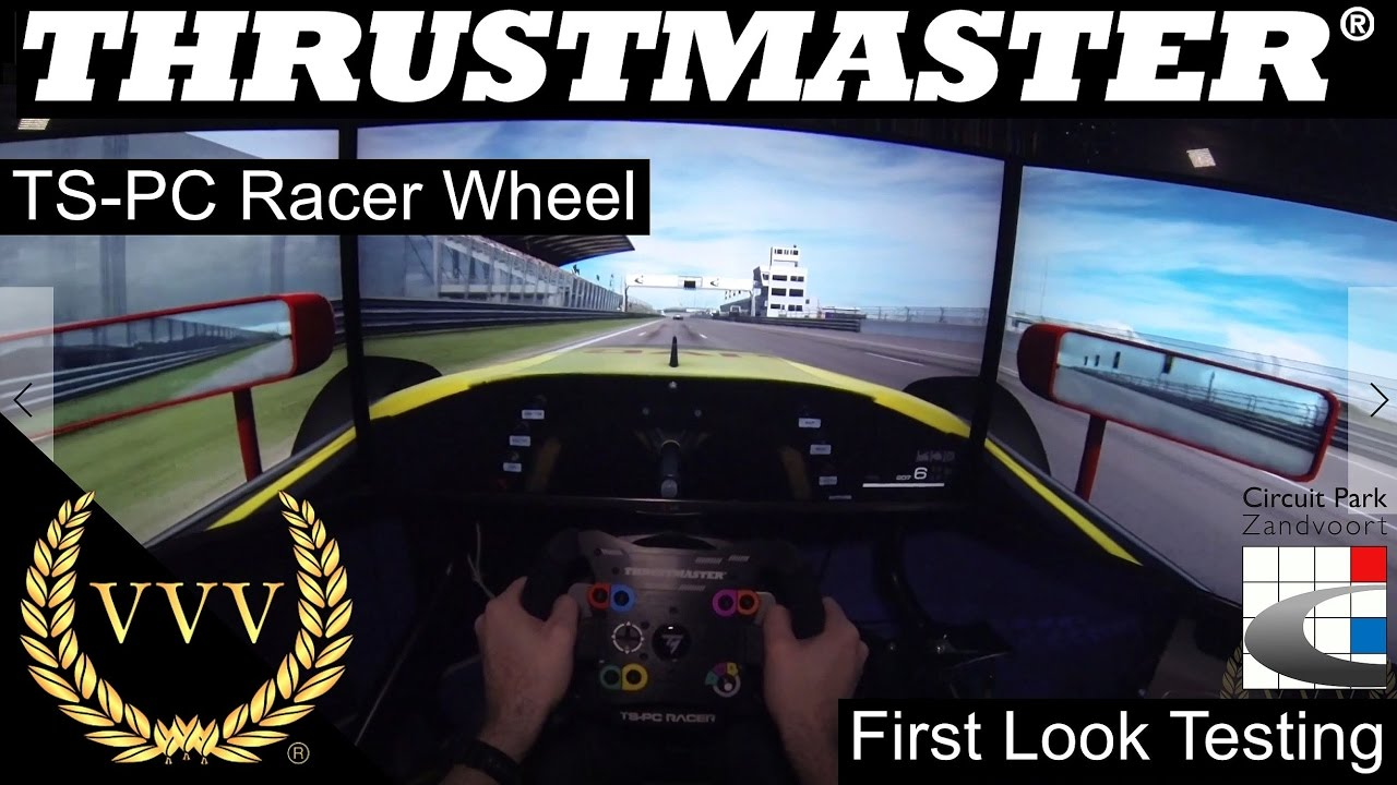 thrustmaster ts pc racer wheel zandvoort test race youtube. Black Bedroom Furniture Sets. Home Design Ideas