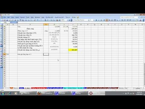 Giới thiệu phần mềm Dự thầu và thanh quyết toán khối lượng GXD (phần 1)