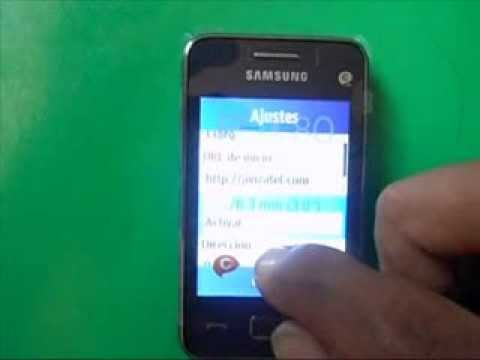 configurar  internet 4G en celular SAMSUNG REX