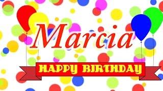 Happy Birthday Marcia Song