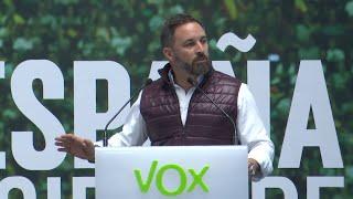 Santiago Abascal pide la detención de Quim Torra