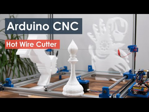 Arduino CNC Foam Cutting Machine (Complete Guide)
