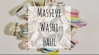 Massive Washi Tape Haul | Etsy
