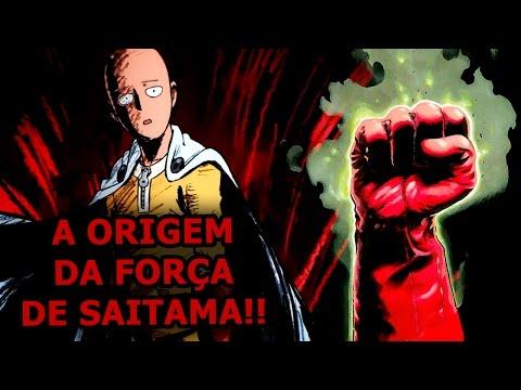 One-Punch Man! A Origem da Força de Saitama!