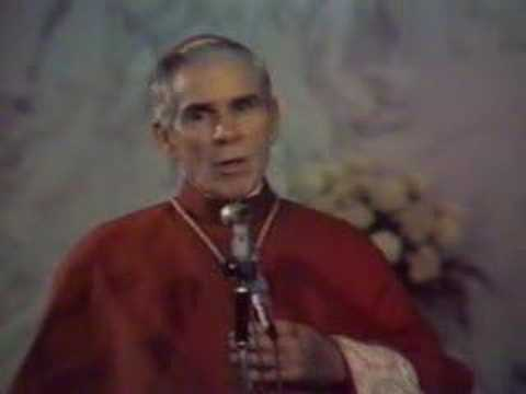 Archbishop Fulton J. Sheen - The Woman I Love - Part 1 of 4