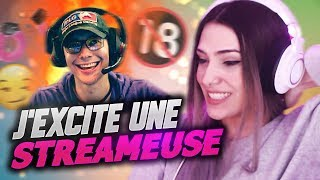 LOCKLEAR EXCITE UNE STREAMEUSE EN LIVE
