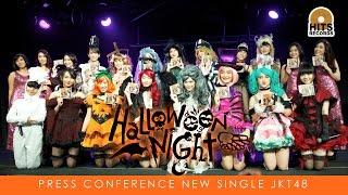 HITS Music Press conference JKT48 Halloween Night
