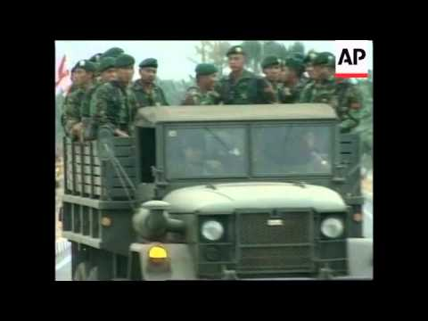 EAST TIMOR: ARRIVAL OF INDONESIAN TROOPS