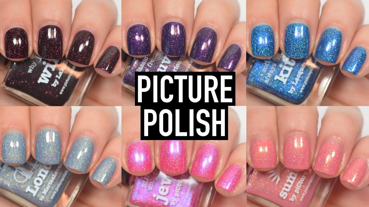 Picture Polish - New Shades | Swatch and Review - YouTube