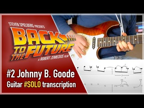 Johnny B. Goode - Back To The Future -  Guitar Tutorial 2/2