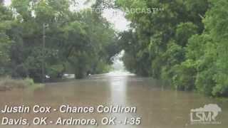 6-18-15 Davis, OK - Ardmore, OK Flooding I35 *Chance Coldiron - Justin Cox*