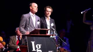 The 20th First Annual Ig Nobel Prize Ceremony