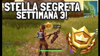 WHERE TO FIND THE SECRET STAR OF WEEK 3! - [SEASON PASS 5] Fortnite ITA