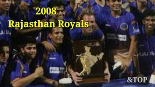 All Time IPL Winners 2016