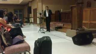 Predica de Amilcar Rojas en Sanford NC