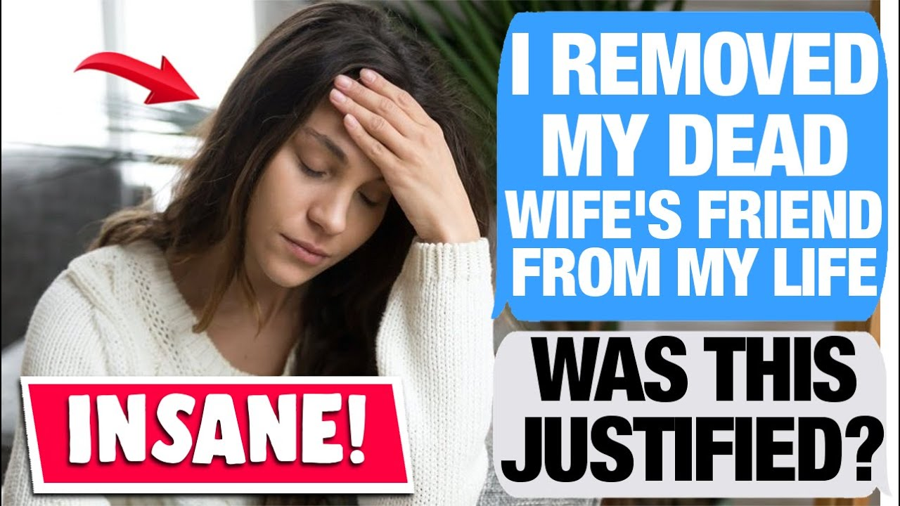 r/AmiTheA**Hole For Cutting Out My WIfe's Friend After She Told My Kids How My Wife Died?