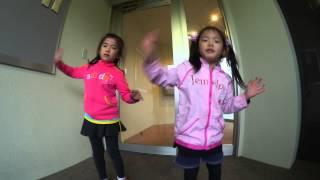 アイカツ!アイドルカツドウを楽しく踊ってますよ〜^^