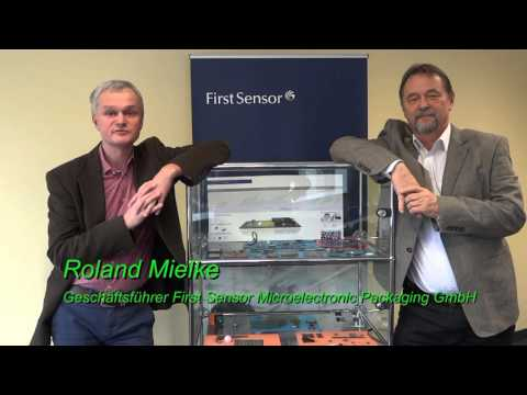First Sensor Microelectronic Packaging GmbH gratuliert Silicon Saxony