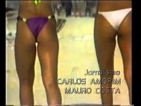Primeira abertura do Programa de Domingo Rede Manchete 1983 1984