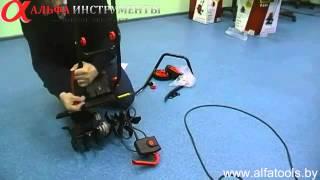 Культиватор электрический FERMER F 140 сборка, обзор смотреть