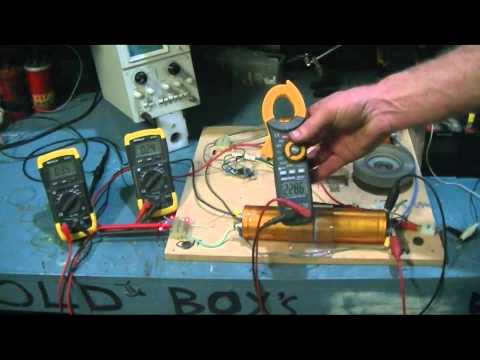 overunity pulse motor serch and test p2