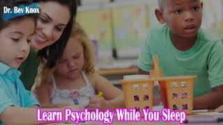 Learn Psychology While You Sleep - Grouping, Differentiating, and Technology in the Classroom