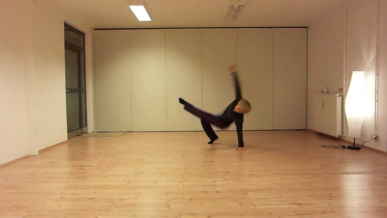 Rj Dance Tutorial 02 Split Jump Youtube