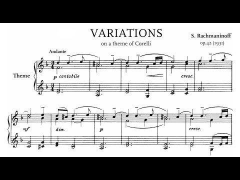 Rachmaninoff: Variations on a Theme of Corelli, Op.42 (Kern)