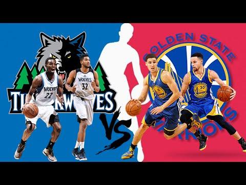 3723388c7 Minnesota Timberwolves vs Golden State Warriors