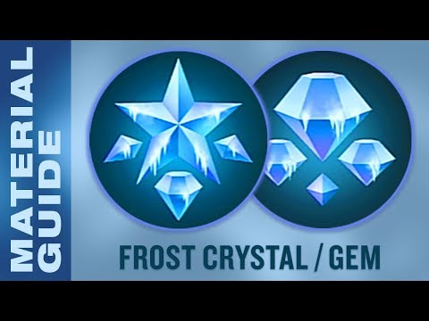 Farm Frost Crystals and Gems FAST in Kingdom Hearts 3 (KH3 Material Synthesis Guide)