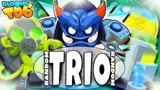 Najmocniejszy Ninja   Random Trio   Bloons TD6 PL